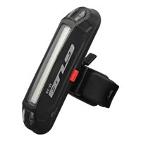 100LM Bike Rear Light USB Rechargeable LED Taillight Night Cycling Warning Light 7 Lighting Effects