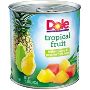 Dole Tropical Fruit in Light Syrup & Passion Fruit Juice, 15.25 oz Can