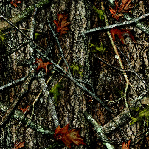 Springs Creative True Timber Camo 100% Polyester Mesh Fabric by the Yard, New Conceal
