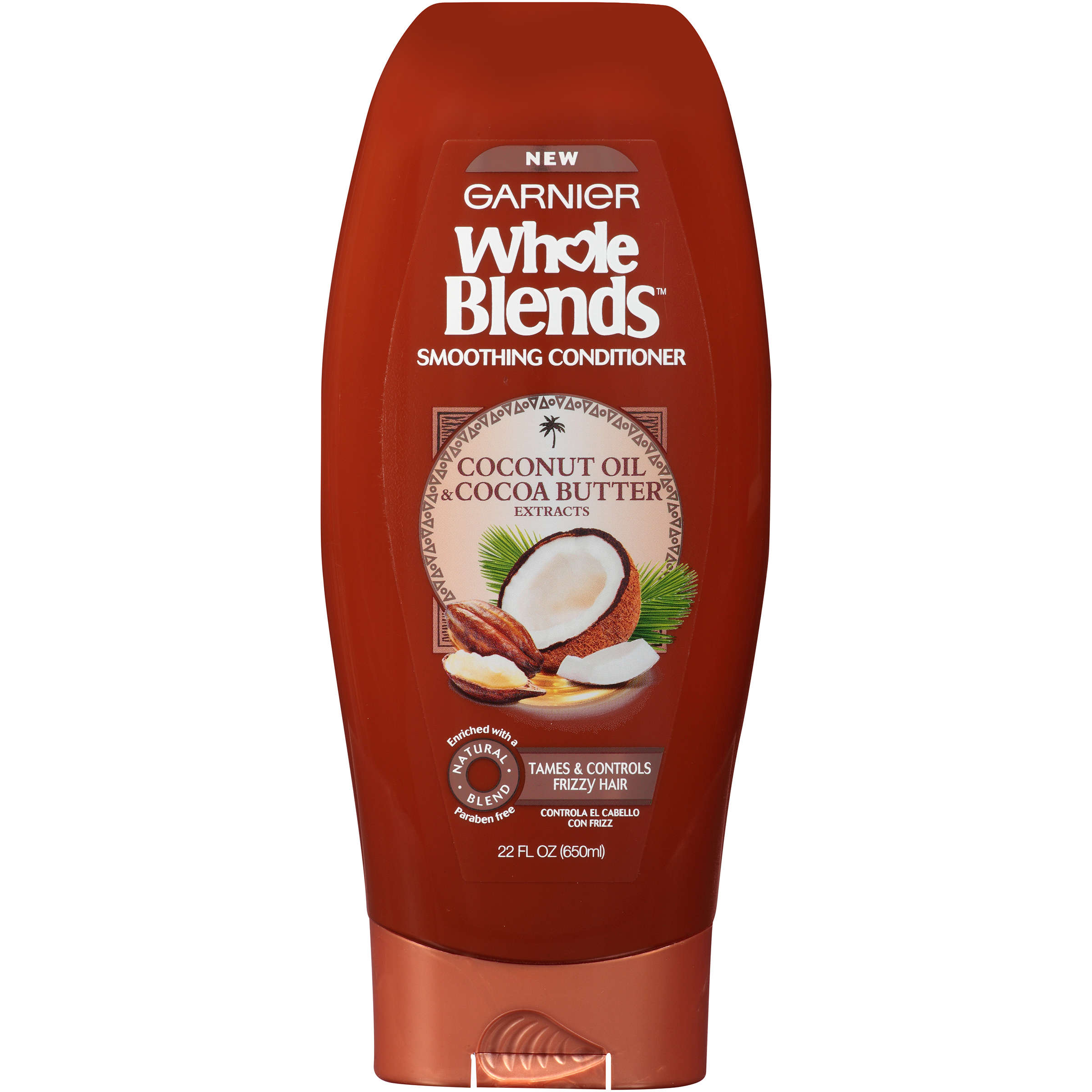 Garnier Whole Blends Conditioner with Coconut Oil & Cocoa Butter Extracts 22 FL OZ