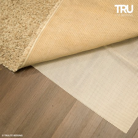 TRU Lite Non-Slip Mat for Area Rugs | Extra Strong Grip Carpet Pad | 2' x 4' Lite Slip Color