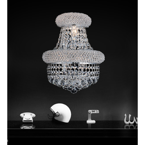 Crystal World 4-Light Wall Sconce
