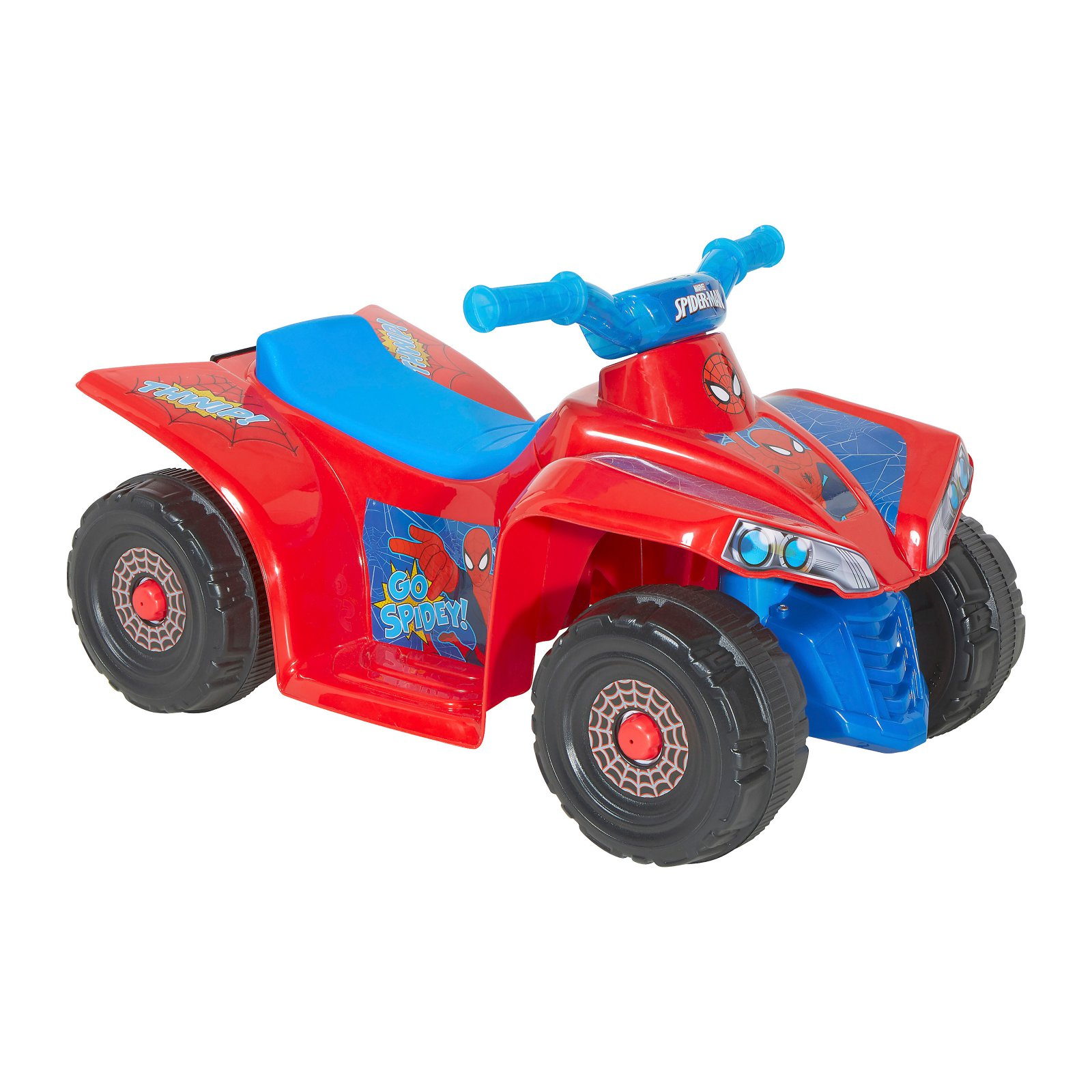 SPIDER-MAN 6V Battery Powered Little Quad Riding Toy