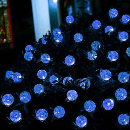 30 LED Solar Power Lights String Ball-shape String Lights IP65 Christmas Decor - image 6 de 6