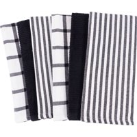 Black Kitchen Towels & Dish Towels - Walmart.com