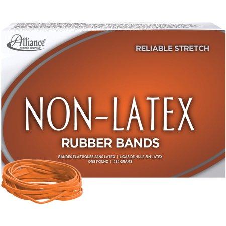 Non-Latex, ALL37336, Rubber Bands, 720 / Box, Orange