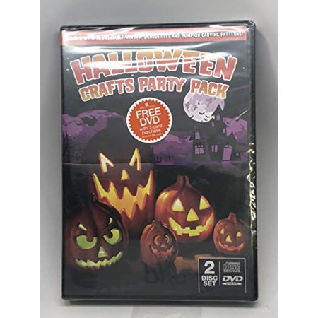 Halloween Crafts Party Pack DVD](Halloween Museum West Virginia)
