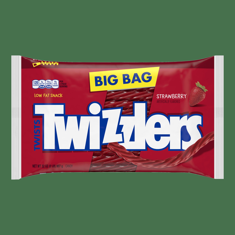 Twizzlers, Strawberry Twists Licorice Chewy Candy, 32 Oz