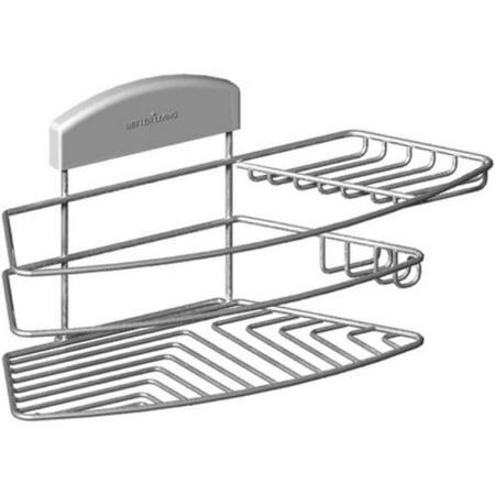 Better Living StorIT Combo Shower Basket - 13201 Solid Stainless Steel Shower Basket