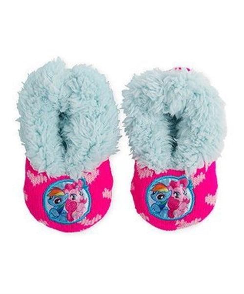 My Little Pony Girls Slipper Socks (Sock Size 5-6)