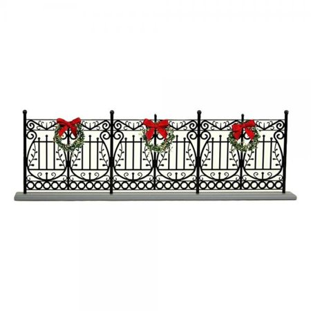Byers' Choice Wrought Iron Fence