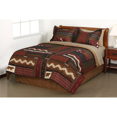 19700007 together with Fishers Room besides 181427268524 additionally Red Gray gray Red in addition Romantic Home Decor. on rustic country comforters sets