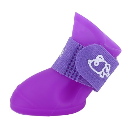Pet rain shoes dog boots waterproof 