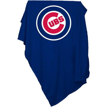 Logo Chair MLB Chicago Cubs Sweatshirt Blanket by