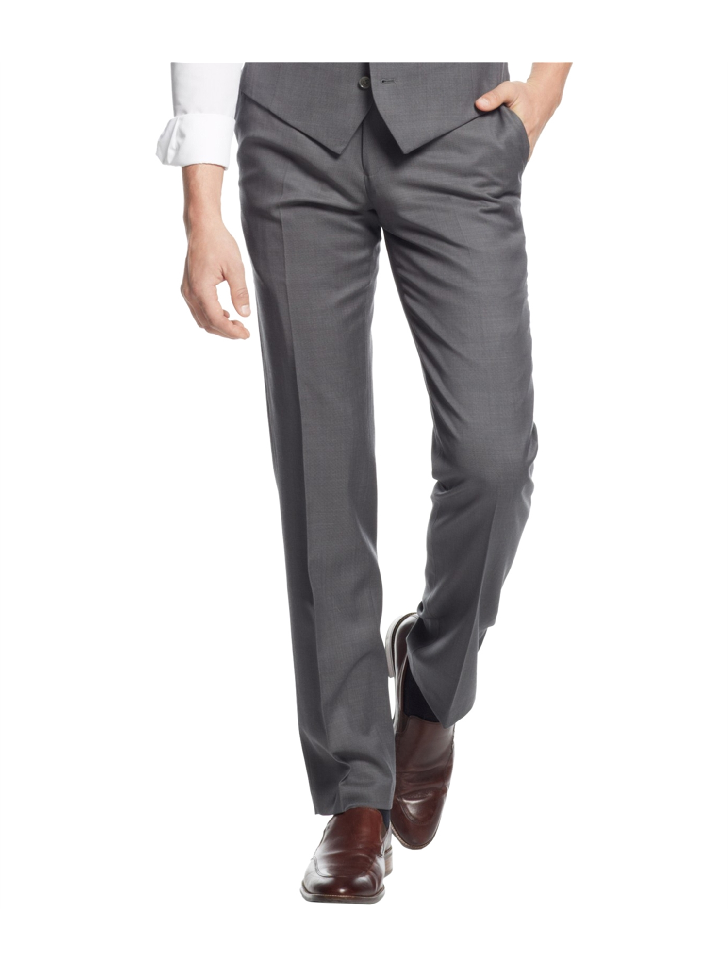 bar III Mens Pindot Dress Slacks