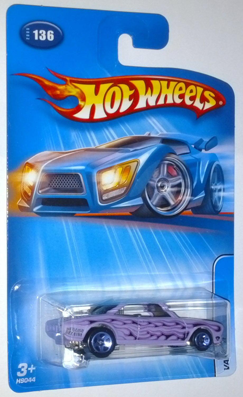 Hot Wheels 2005 Vairy 8 #136 1:64 Scale Die-Cast Vehicle By Mattel by