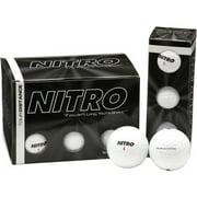 Nitro Golf Tour Distance Golf Balls, 12 Pack