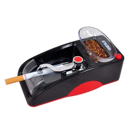 Electric Cigarette Rolling Injector Machine Automatic Tobacco Roller Maker with Increased Tobacco Storage Compartment for Faster Rolling Size for 85mm,