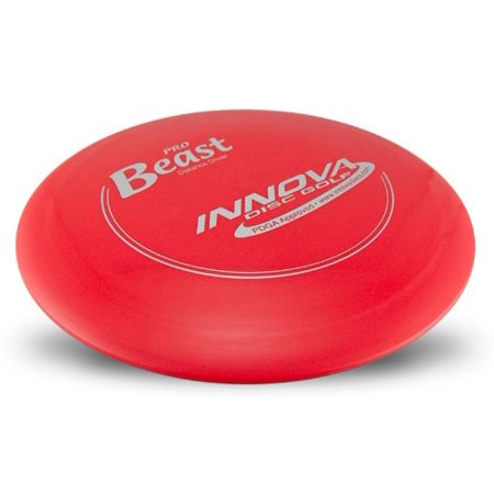 Innova Pro Beast 165-170 Disc Golf Driver (disc colors vary), The Innova Beast is a long range Disc Golf Driver with nice glide and a predictable finish. By Pro Discs