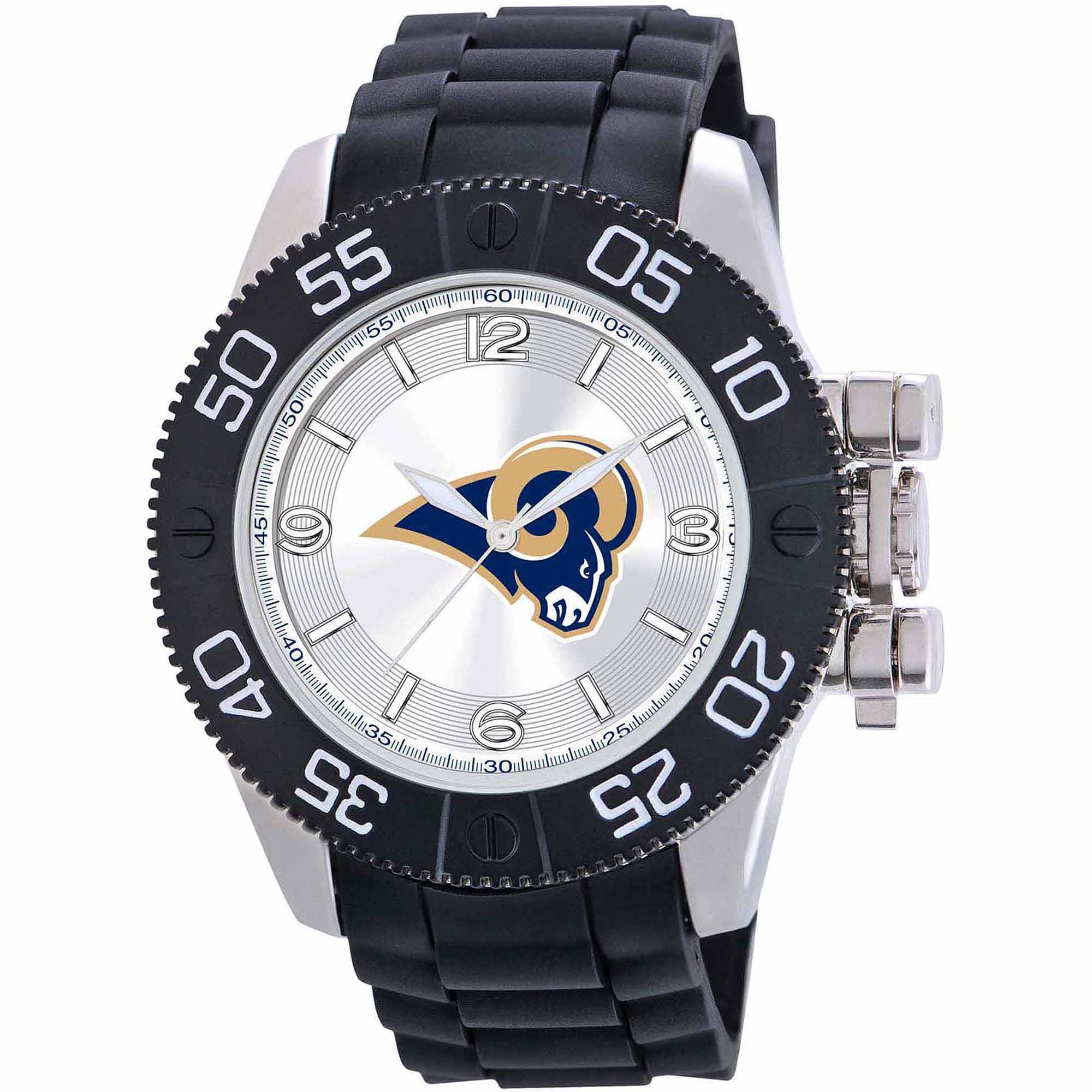 Game Time NFL Men's St. Louis Rams Beast Series Watch