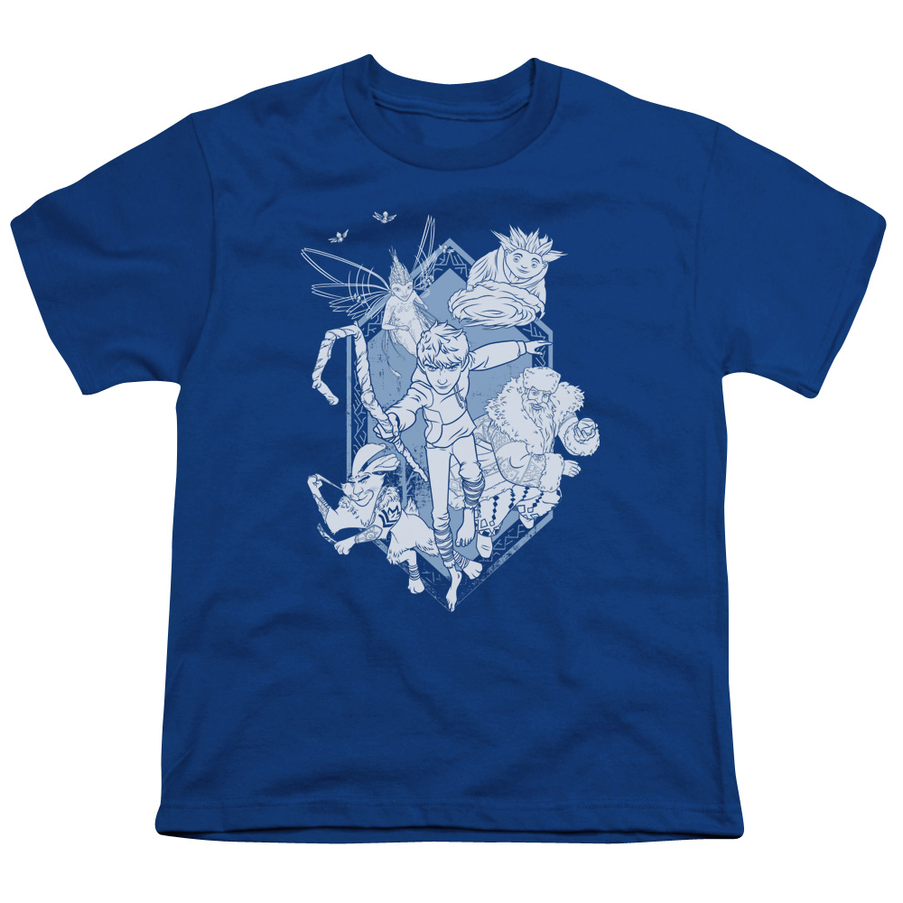 RISE OF THE GUARDIANS/COMING FOR YOU-S/S YOUTH 18/1-ROYAL BLUE-XL