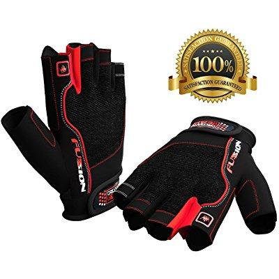 Weightlifting Gloves for Crossfit Workout Training - Fitness Biking Cycle & Gym Gloves for Men & Women - Best Glove for Weight Lifting W. Wrist Closure - Enhance Grip & Eliminate Blisters & (Best Autumn Cycling Gloves)