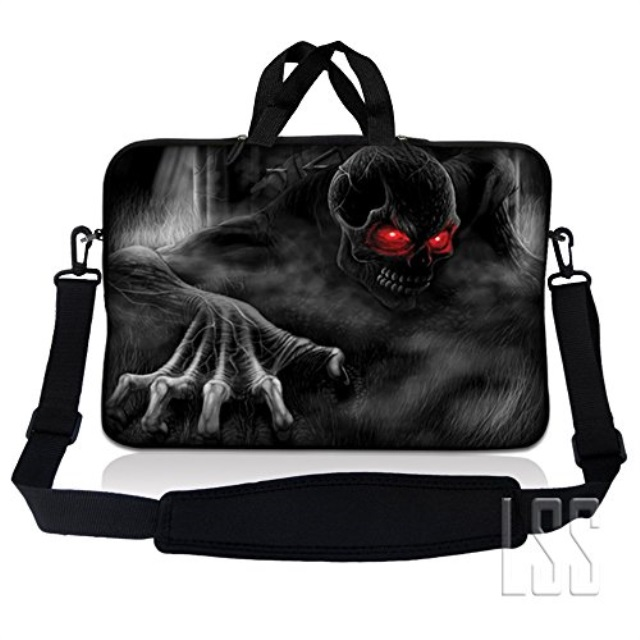 Dinosaur On A Bicycle White Laptop Bag 15.6 Inch Laptop Sleeve Case with Shoulder Straps /& Handle//Notebook Computer Case Briefcase Compatible with MacBook//Acer//Asus//Hp