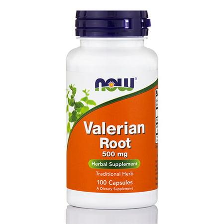 La racine de valériane 500 mg 100 Veg Capsules