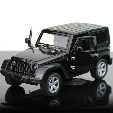 Convertible Car Shape Alloy Modeling Toy Cake Baking Decor black