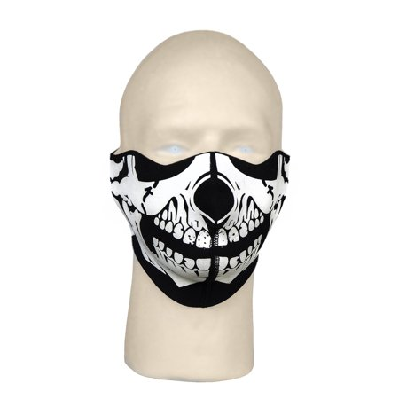 Mossi, 1818, Neoprene Skeleton Skull Face Mask