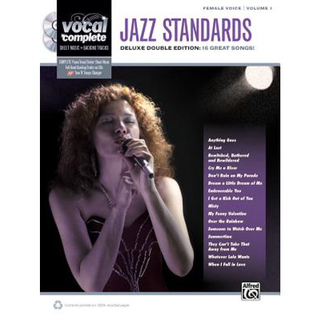 (Jazz Standards: Female Voice, Volume 1 : Deluxe Double Edition: 16 Great Songs!)