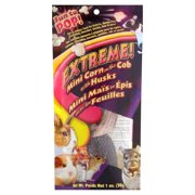 Extreme! Mini Corn on the Cob with Husks Small Animal Treats, 1 oz