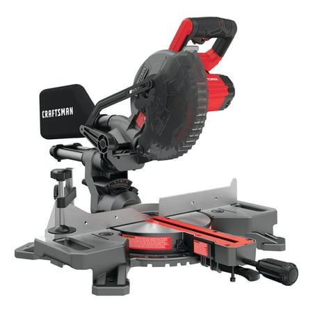 Craftsman V20 7-1/4 in. Cordless Sliding Miter Saw Kit 20 volt 3800 rpm - Case Of: 1