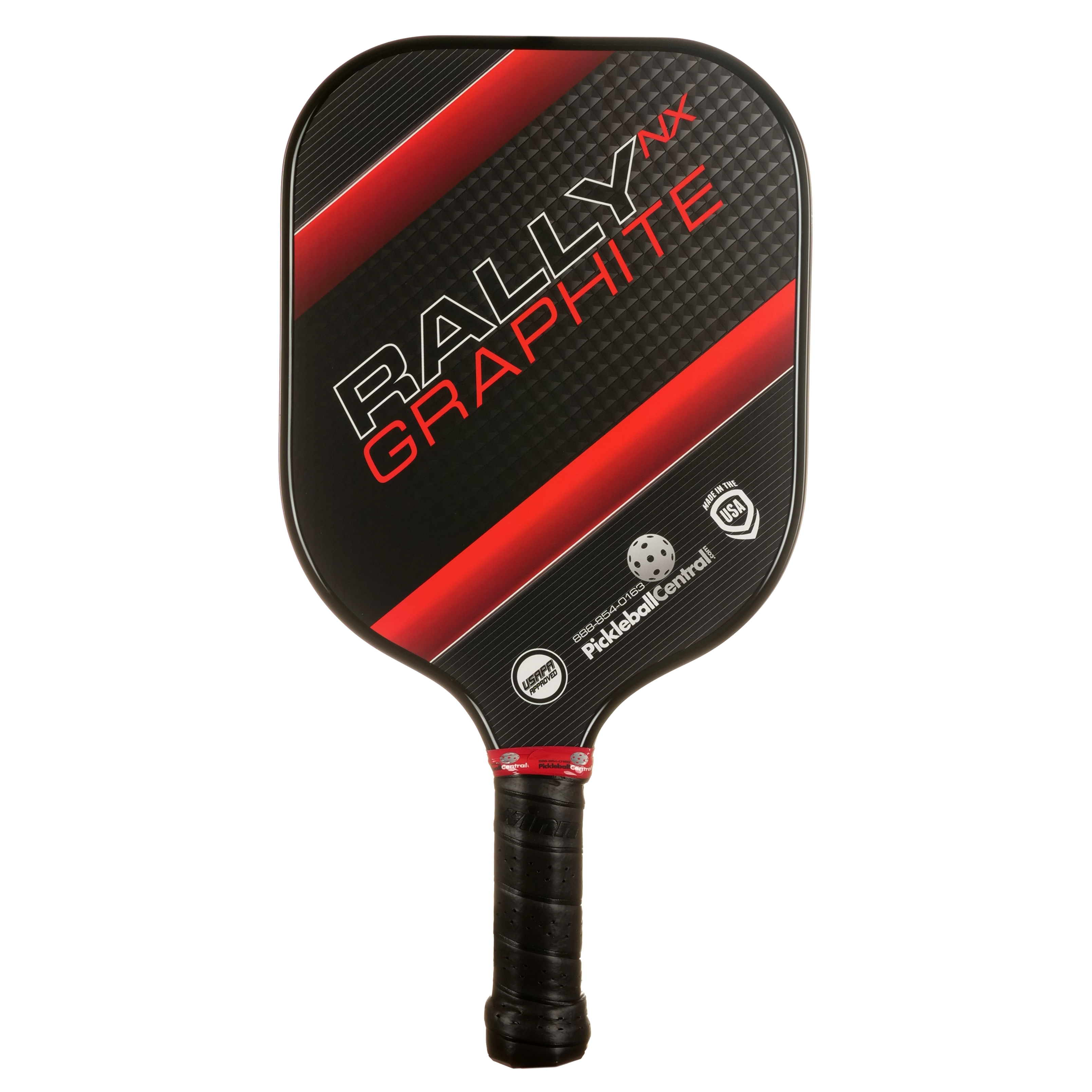 Rally NX Graphite Pickleball Paddle- Red