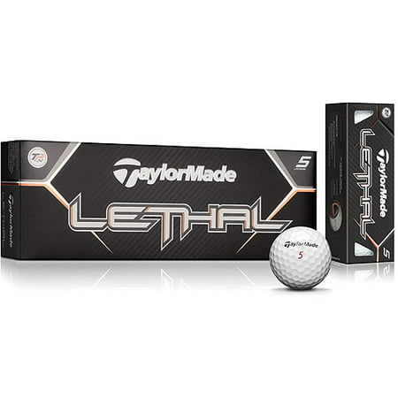 TaylorMade Lethal Golf Balls Low Numbers 12-Ball Pack