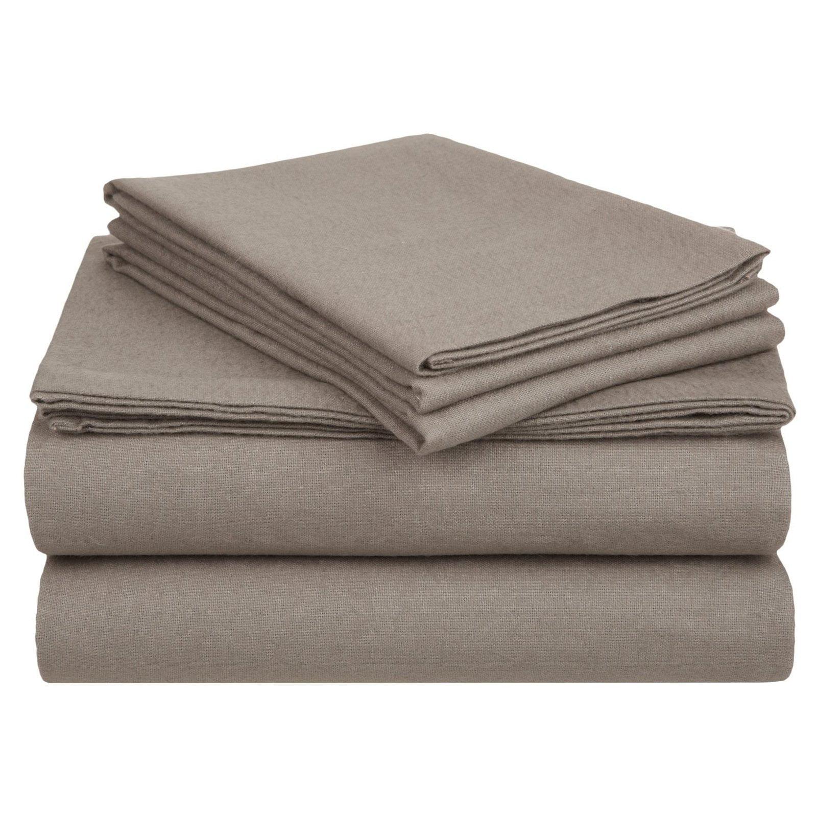 Superior Flannel Quality Cotton Paisley Sheet Set