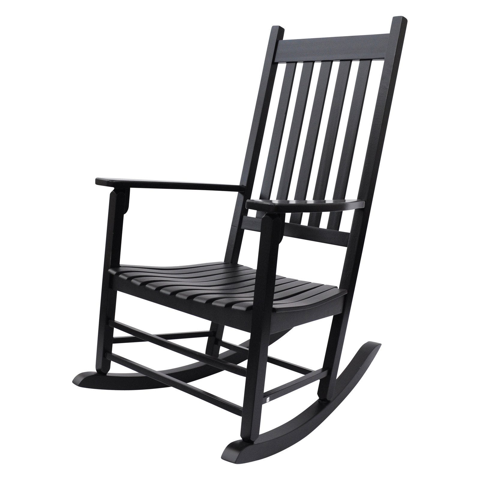 Shine Company Vermont Porch Rocker - Black