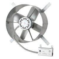 DAYTON Gable Attic Ventilator,120V,1650 CFM 10W199