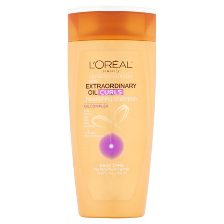 Loreal Textureline Curl Memory - L'Oreal Paris Hair Expert Extraordinary Oil Curl Nourishing Shampoo Family Size 25.4 fl. oz. Bottle