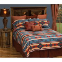Crystal Creek Bedding Set By Wooded River