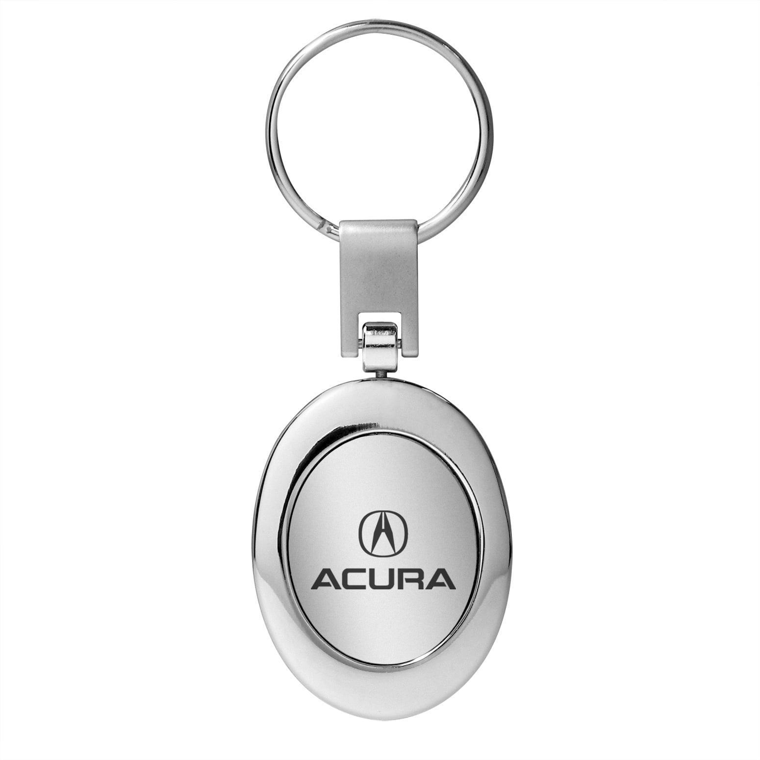 Acura Chrome Oval Metal Key Chain Keychain Walmartcom - Acura keychain