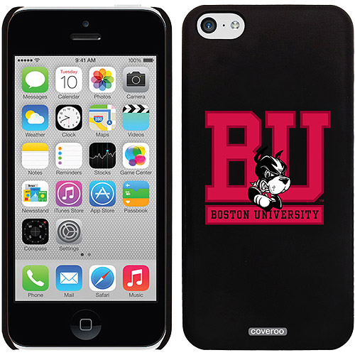 Coveroo Boston University BU University Terrier Design Apple iPhone 5c Thinshield Snap-On Case