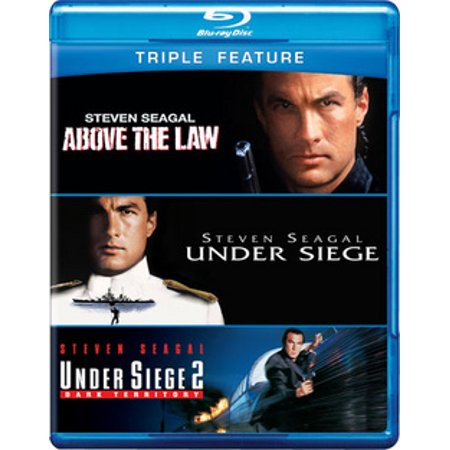 ABOVE THE LAW/UNDER SIEGE 1 & 2 (BLU-RAY/TFE/3 DISC/VIVA) (3 Meters Above The Sky Part 3)