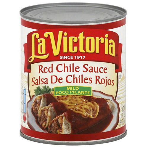 La Victoria Mild Red Chile Sauce, 28 oz, (Pack of 6)
