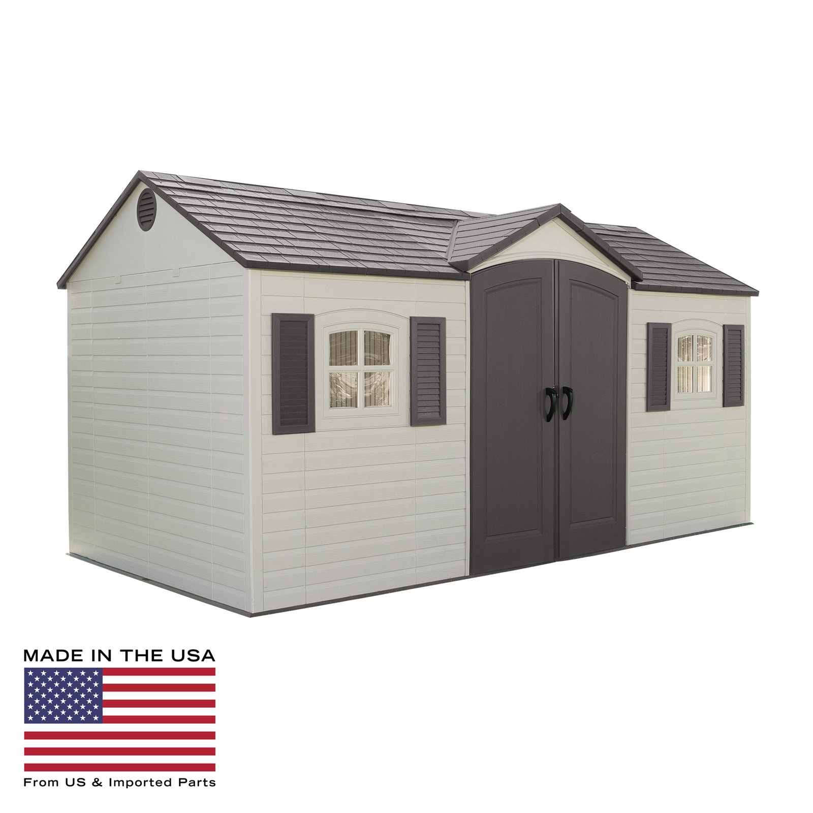Lifetime 15 x 8 ft. Outdoor Garden Shed by Lifetime Products