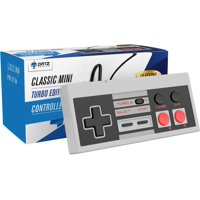 Ortz 10ft NES Classic Controller for Nintendo Mini Edition Console [TURBO EDITION]