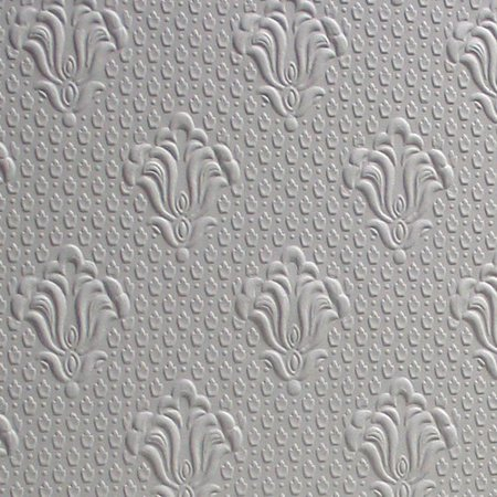 Brewster home fashions anaglypta paintable albert for 3d embossed wallpaper