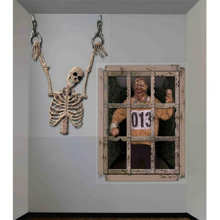Costumes for all Occasions FM68910 Gruesome Wall Dcor 4 ft. X 5.3 ft.