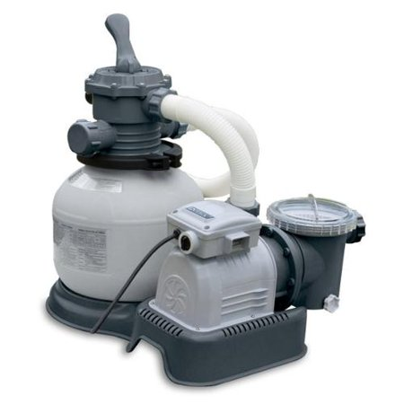 Intex 2100 Gph Krystal Clear Sand Filter Swimming Pool Pump 28645eg