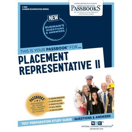 Placement Representative II - eBook